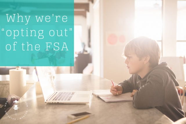opt-out FSA